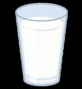 コップ一杯の牛乳